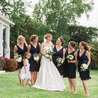 Kristen and her Bridesmaids