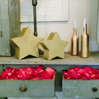 Pink and Gold Ceremony Decor