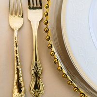 Gilded Place Settings