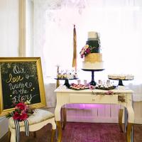 Glamorous Dessert Display