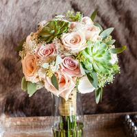Melissa's Bridal Bouquet