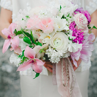 Pink Clematis Bouquet