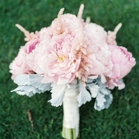 Astilbe and Peony Bouquet