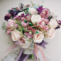 Purple and Mauve Bouquet