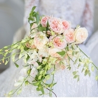 Cascading Garden Rose Bouquet
