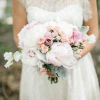 Peony and Spray Rose Bouquet