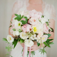 Poppy and Peony Bouquet
