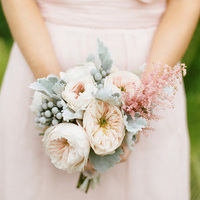 Pink and Green Pastel Bouquet