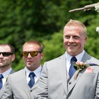 Bryant Looking at his Bride