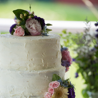Sweet Floral Wedding Cake