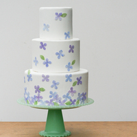 DIY: Edible Hydrangea Cake