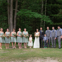 Anna and Travis' Wedding Party