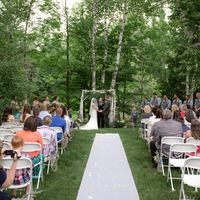 Perfect Backyard Ceremony