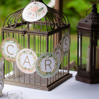 Birdcage Card Box and Banner