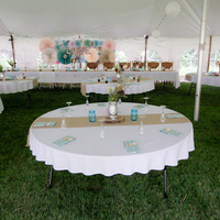 Tented Reception Decor