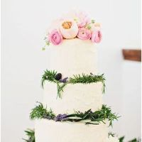 Rosemary and Rose Cake