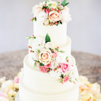 Rose and Hypericum Berry Cake