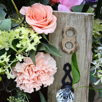 Vintage Doorknob Table Numbers