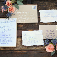 Romantic Fall Vineyard Invitation