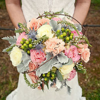 Romantic Fall Pastel Bouquet