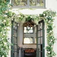 Greenery Garland Entryway