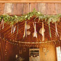 Garland Barn Entryway Decor