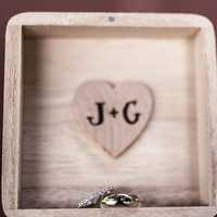 Jessica and Galen's Rings