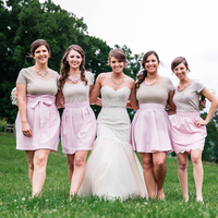 Betsy and her Bridesmaids