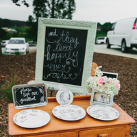 Plate Guest Book Alternatives