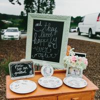 Plate Guest Book Alternatives