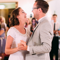Hadley and Kal's First Dance