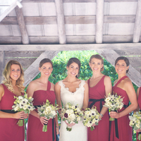 Lindsay and her Bridesmaids