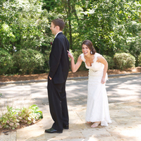Lindsay and Dustin's First Look
