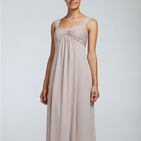 Long, Sweetheart, A-line, Sleeveless, crinkle chiffon, available in all colors