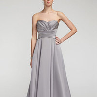 Long, Sweetheart, A-line, Satin, Sleeveless, available in all colors