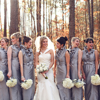 Silver Bridesmaids
