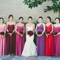 Berry Bridesmaids