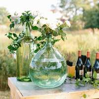 Blown Glass Vase Arrangement