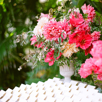 Dahlia Reception Arrangements
