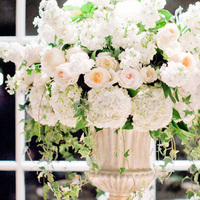 Classic Glam Reception Flowers