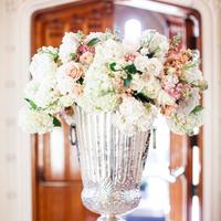 Classic Silver Vase Arrangement