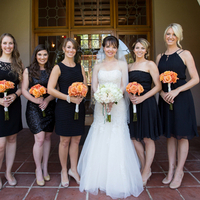Kelly and her Bridesmaids