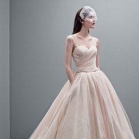 ivory, Tulle, Blush, Tank, Taffeta, Sleeveless, Oyster, Ball gown