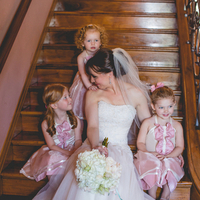 Kelly and her Flower Girls