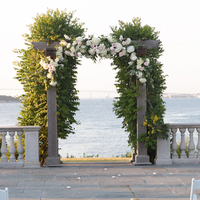 Seaside Ceremony Arbor