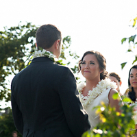 Stephanie and Shaun Saying Vows