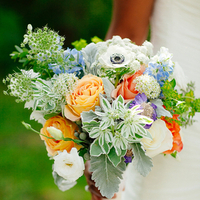 Tricia's Bridal Bouquet