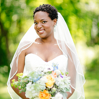 Tricia's Bridal Look