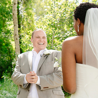 Tricia and Adam's First Look