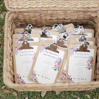 5 Totally Creative Ceremony Program Ideas